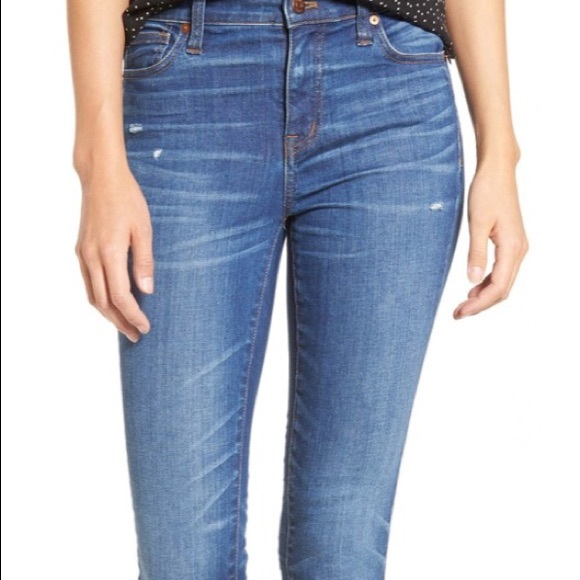 "Madewell Denim - Madewell 9"" Skinny Jeans"